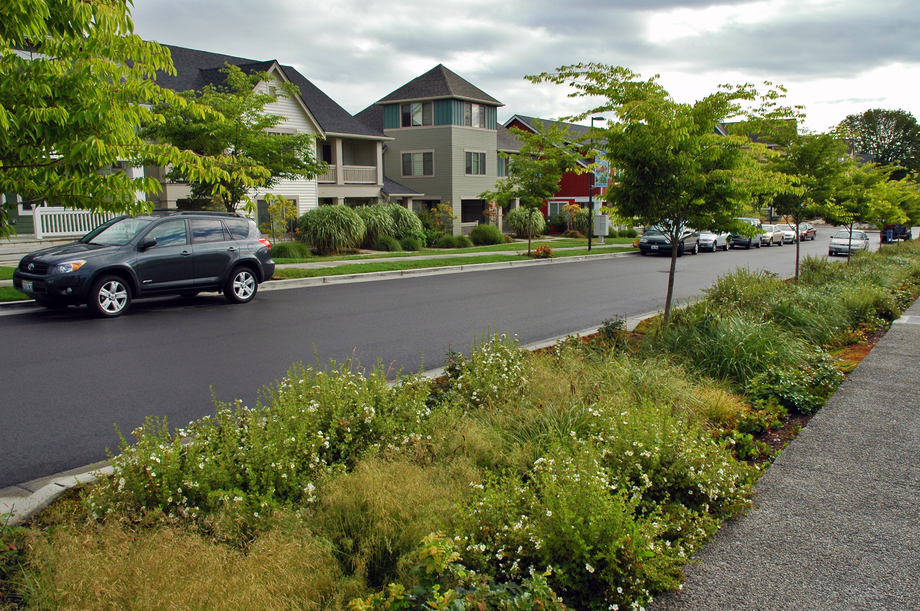 Open House Design additionally Small Sustainable Home Design moreover Contemporary Landscape Design further  moreover Small Sustainable Home Design. on sustainable practices for landscape design vegetated swales