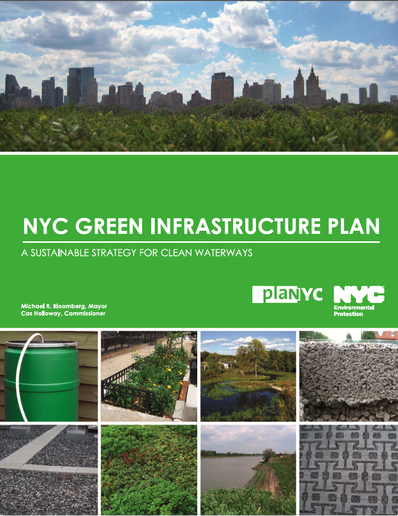 Green infrastructure digest sustainable site solutions for Green plans